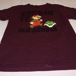 men's kickin' it old school Super Mario T-shirt sm